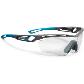 Rudy Project Tralyx Okulary rowerowe, grey pyombo matte - impactx photochromic 2 black